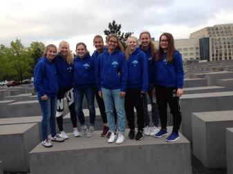 Besuch des Holocoust-Denkmals in Berlin