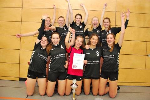 Bezirkspokalsieger Damen 2017