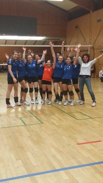 Damen 1, Aufstieg in die Landesliga