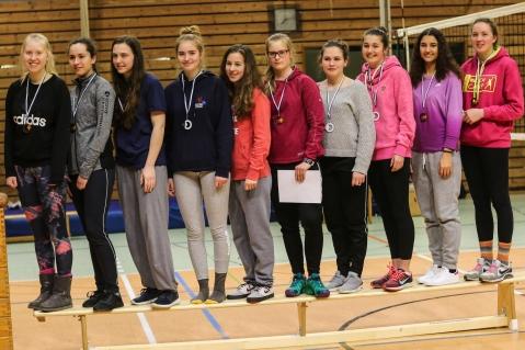 Das U18-Team des VC Schwandorf, 3. Bayerischer Meister
