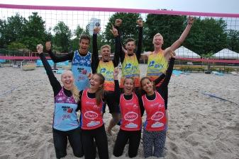 Die Bayerischen Schulmeister im Beachvolleyball