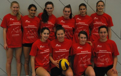 Die U18-Mannschaft des VC Schwandorf, Nordbayerischer Vizemeister 2016