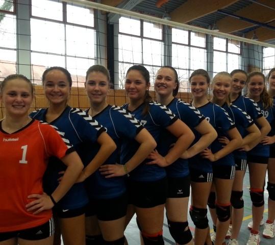 U18-Team des VC Schwandorf