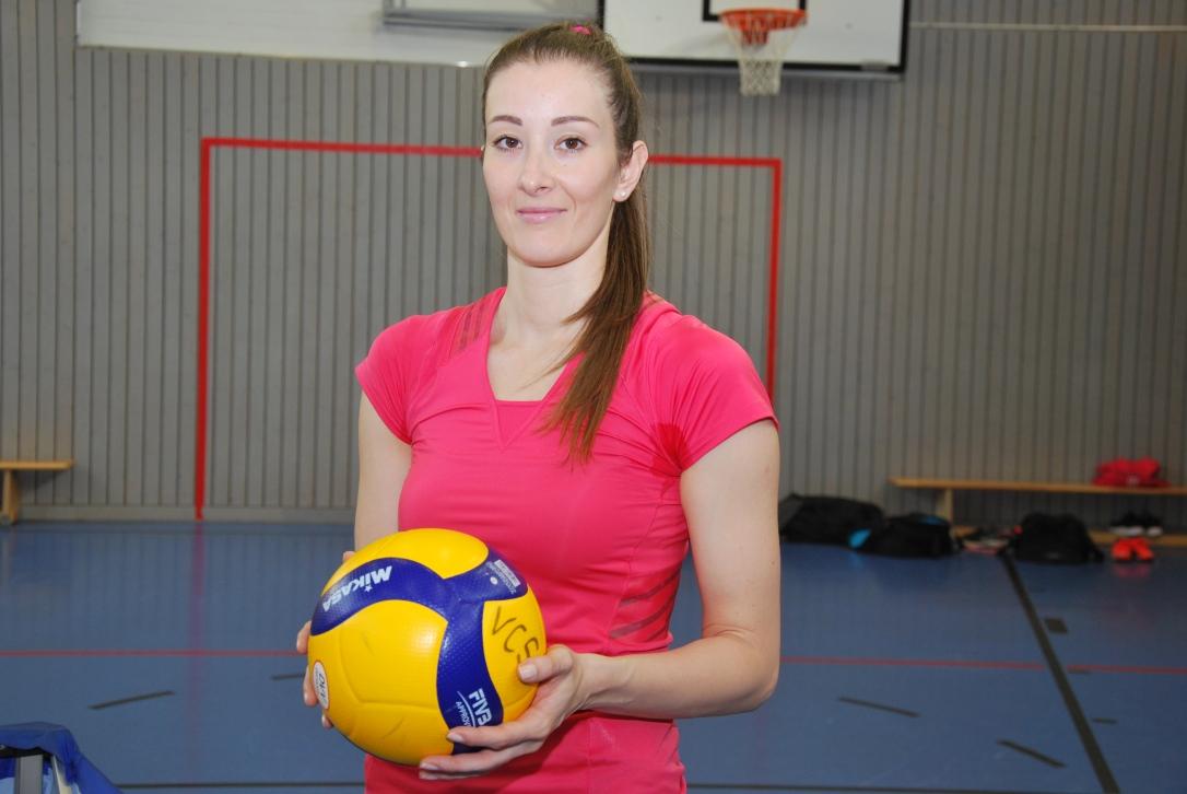 Ema Ivic, die neue Trainerin beim VC Schwandorf